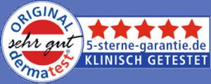 Eyecatcha Wimpernserum Dermatest Siegel 5-Sterne